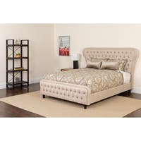 Wide Headboard Platform Set