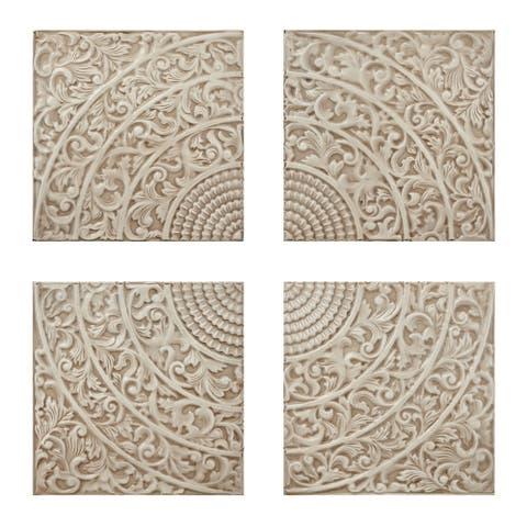 Kashion Cream Wall Tiles - Set of 4
