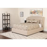 Curved Headboard Platform Set