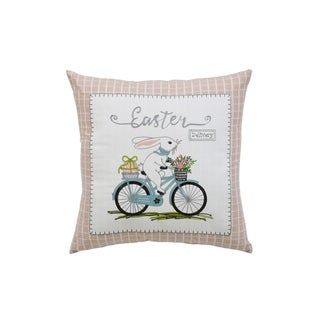 Easter Delivery Decorative Throw Pillow