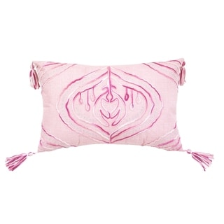 Tie Dyed Cardiff Light Pink Rectangle  Accent Pillow