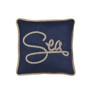 """""""Sea"""" Themed Rectangular Throw Pillow"""