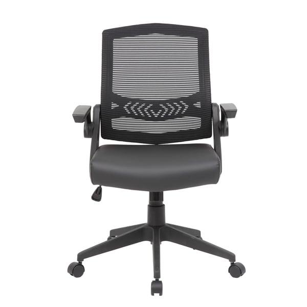 Porch & Den Eschman Mesh Flip Arm Task Chair