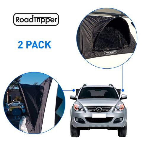 RoadTripper SUV Car Camping Tent Tent Works as Vent Bug Guard and Sun Screen Canopy Great Car Camping Accessory