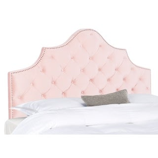 Link to Safavieh Arebelle Tufted Headboard Similar Items in Bedroom Furniture