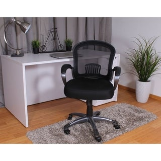 Boss Mid Back Ergonomic Mesh Task Chair