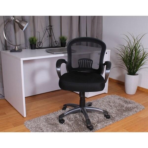 Boss Mid Back Ergonomic Mesh Task Chair