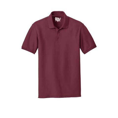 One Country United Men's Core Classic Pique Short Sleeved Golf Polo