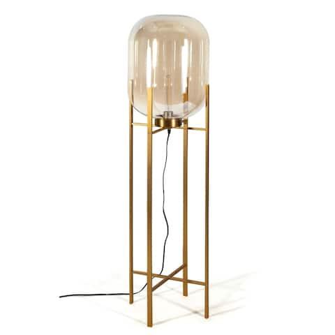 Edam Floor Lamp - Gold