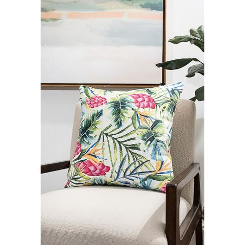 Colorful Tropic Modern Pillow