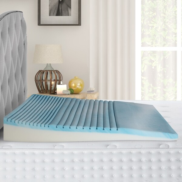 Broyhill Gel Memory Foam Body Wedge Pillow