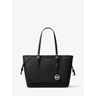 Link to MICHAEL Michael Kors Voyager Top-Zip Medium Leather Tote Similar Items in Shop By Style