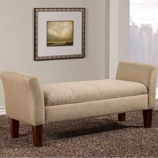 Copper Grove Oullins Tan Storage Bench