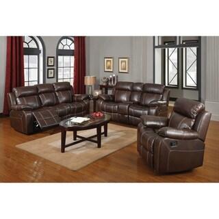 Kessler Chestnut 2-piece Living Room Set