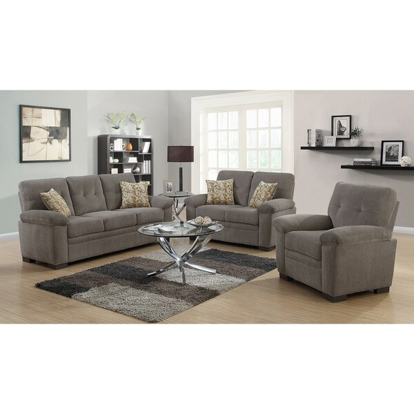 Celia Casual 3-piece Living Room Set