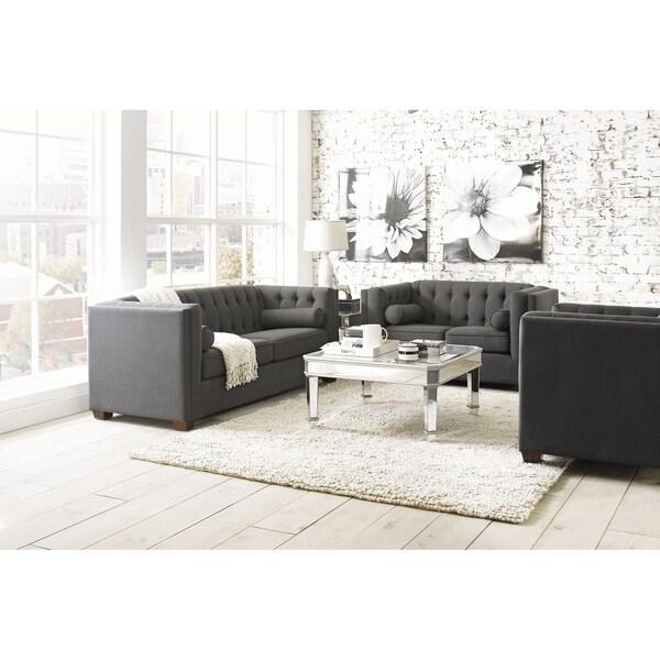Harlowe Transitional 3-piece Living Room Set
