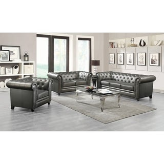 Andreas Traditional 2-piece Living Room Set