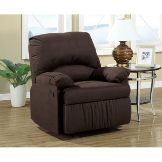Soren Casual Glider Recliner with Padded Arm Rests