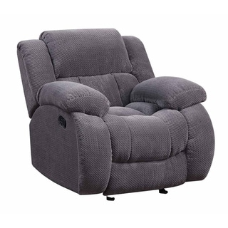 Greta Casual Glider Recliner with Scoop Seating