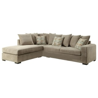 Cordoba Reversible Pillow-back Sectional with Chaise