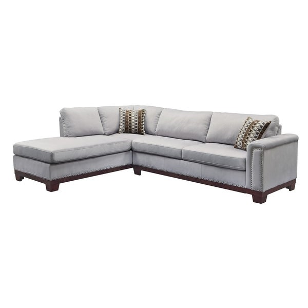 Nello Casual Blue Grey Sectional