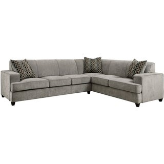Gael Casual Grey Sectional with Queen-sized Sleeper