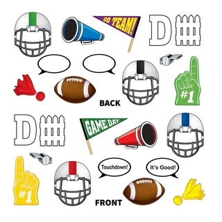 "Link to Beistle 5"" - 10.75"" Football Photo Fun Signs, Printed 2 Sides - 12 Pack (12/Pkg) Similar Items in Decorative Accessories"
