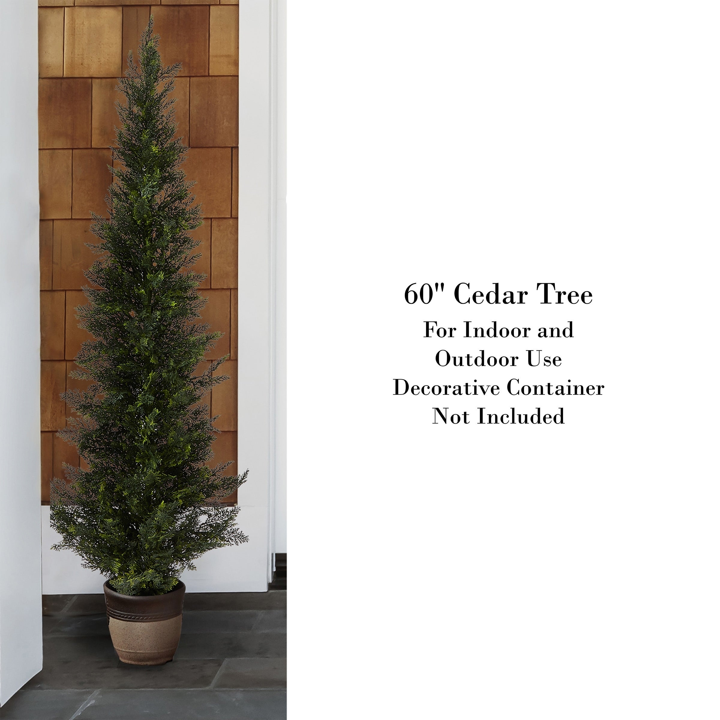 Shop Pure Garden 5 Foot Tall Uv Protected Indoor Outdoor Potted