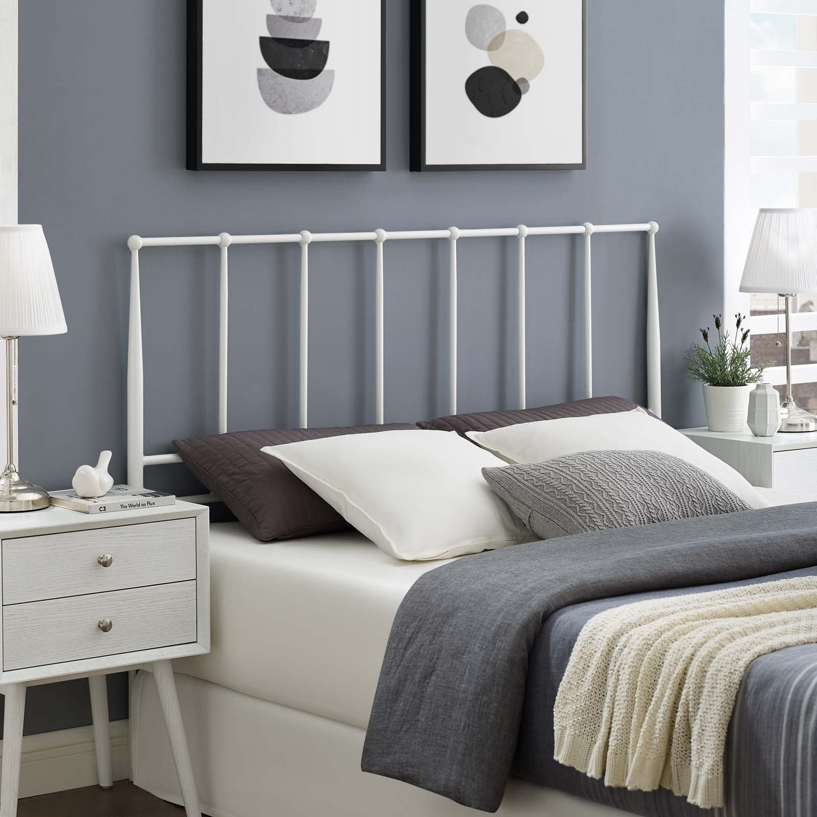 Kiana Metal Stainless Steel Headboard Beds Mattresses Bedding