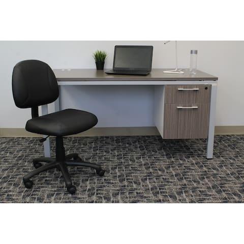 Porch & Den Glenmore Black Posture Chair