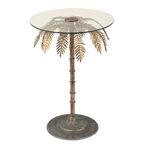 Palm Tree Side Table Free Shipping Today
