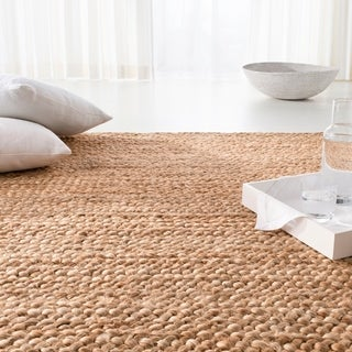 Lauren Ralph Lauren Handmade Carena Weave Nautical & Coastal Solid Jute Rug