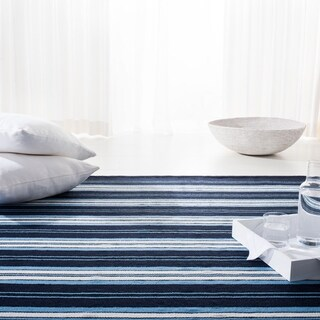 Lauren Ralph Lauren  Hanover Stripe Nautical & Coastal Polyester Rug