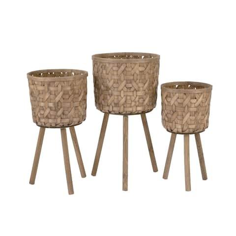 Bamboo Plant Buckets