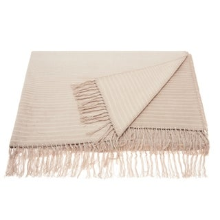 Link to Mina Victory Ombre Striped Throw Blanket Similar Items in Blankets & Throws