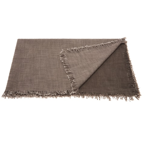 Mina Victory Woven Ombre Throw Blanket