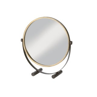 Ritz Tabletop Mirror - Antique Gold - Antique Gold