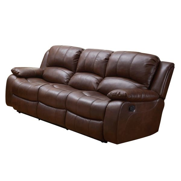 Miraculous Shop Vanity Art Bonded Leather 3 Seat Recliner Loveseat Alphanode Cool Chair Designs And Ideas Alphanodeonline