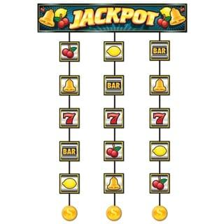 Beistle 4' Casino Slot Machine Hanging Decorative Stringer - 12 Pack (1/Pkg)
