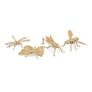 Cast Iron Insects - Set of 4