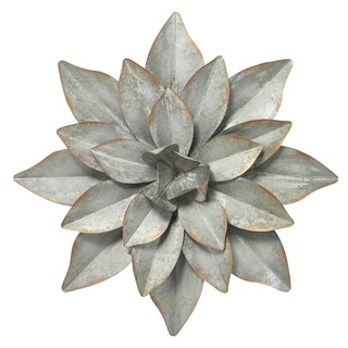 Michaela Metal Flower Wall Decor