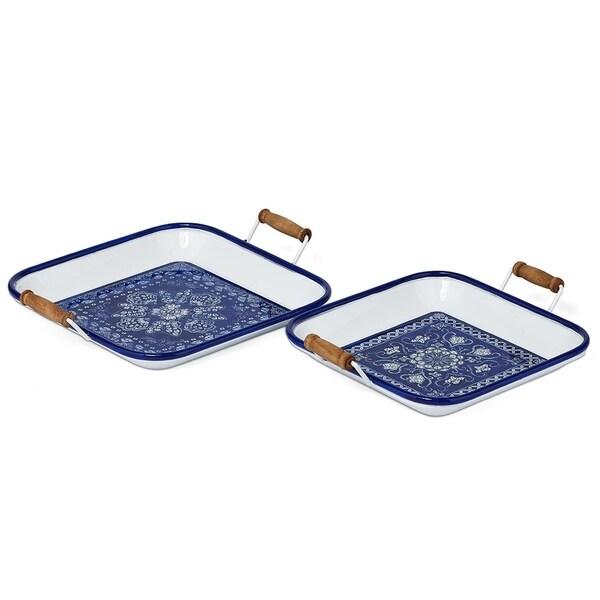 Bernhari Metal Trays - Set of 2