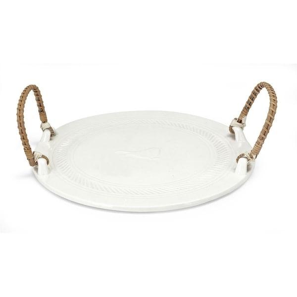 Trisha Yearwood Bluebird Ceramic Tray