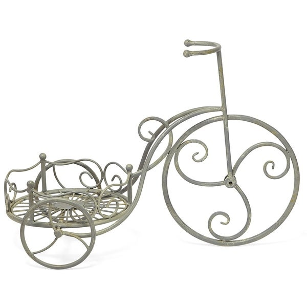Victor Gray Tricycle Planter