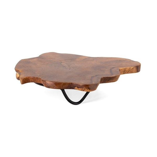 Preston Small Teak wood Tray