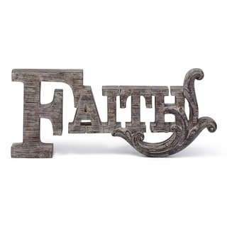 Faith Letter Decor
