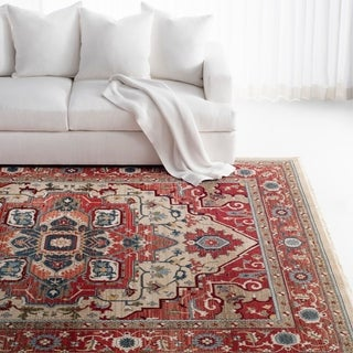 Lauren Ralph Lauren Quentin Traditional Oriental Rug - 6' x 9'