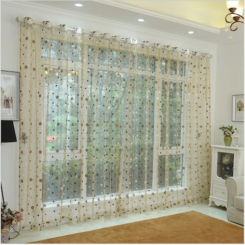 Window Privacy Curtains Sheer Panels, Marseille