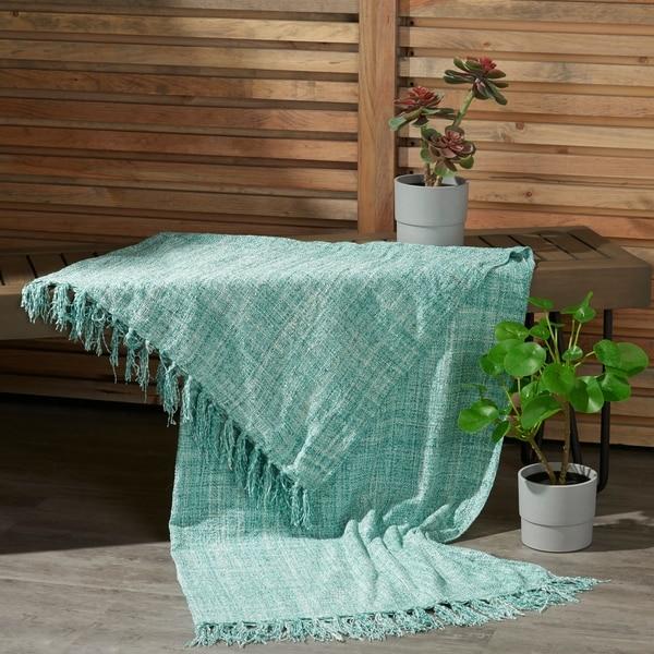 Mina Victory Indoor/Outdoor Throw Blanket. Opens flyout.