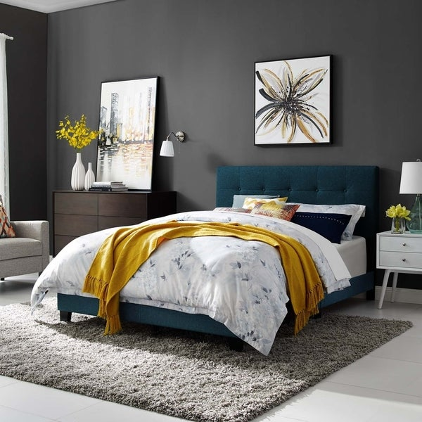 Copper Grove Aschaffenburg Twin Upholstered Bed
